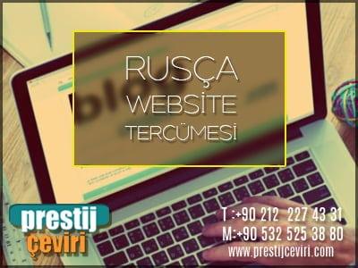 Rusça website tercümesi için fiyat alın.